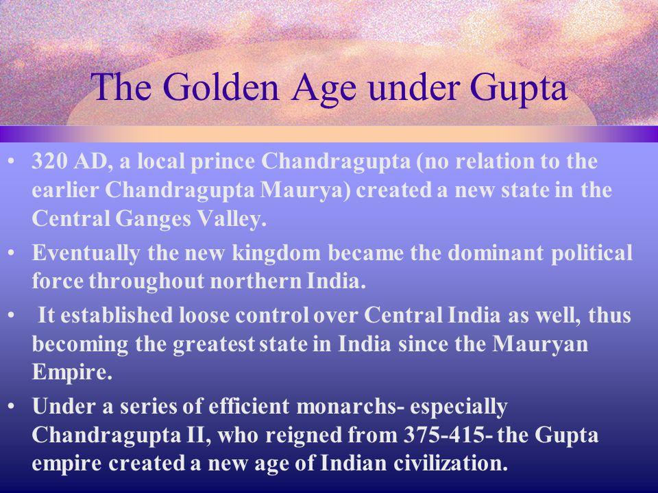 The Golden Age under Gupta