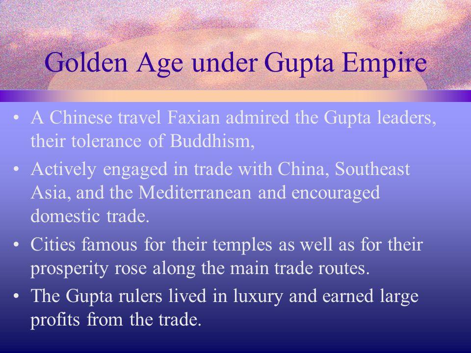 Golden Age under Gupta Empire