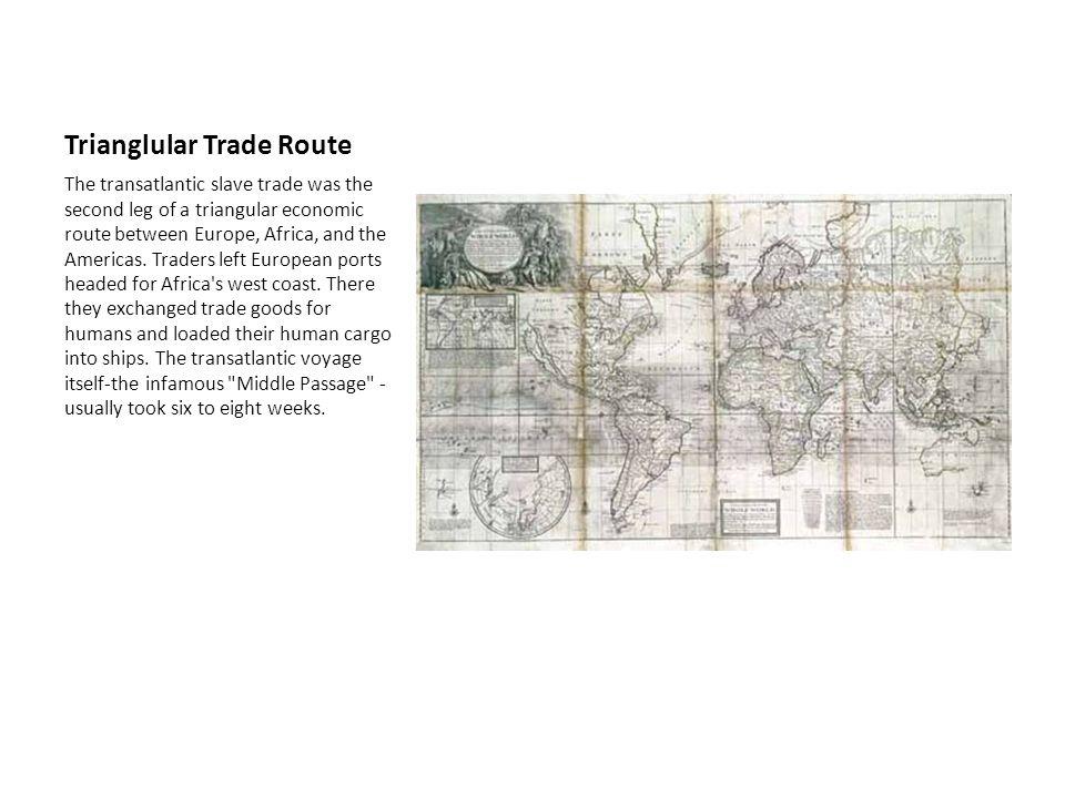 Trianglular Trade Route