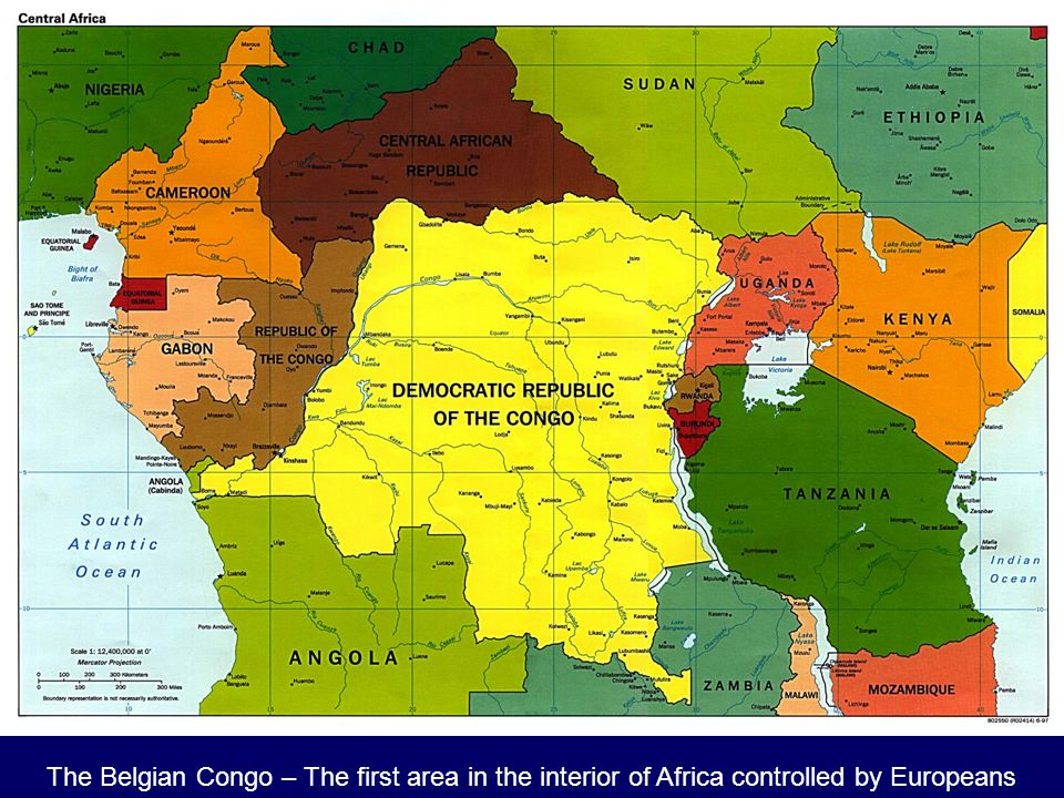The Belgian Congo – The first area in the interior of Africa controlled by Europeans