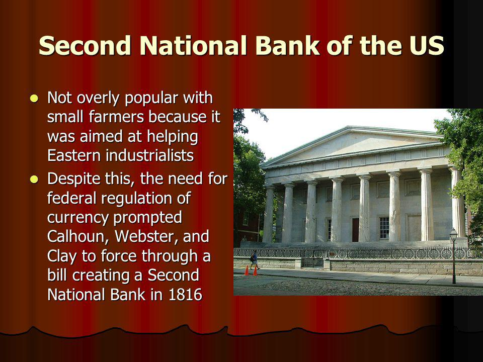 Second National Bank of the US