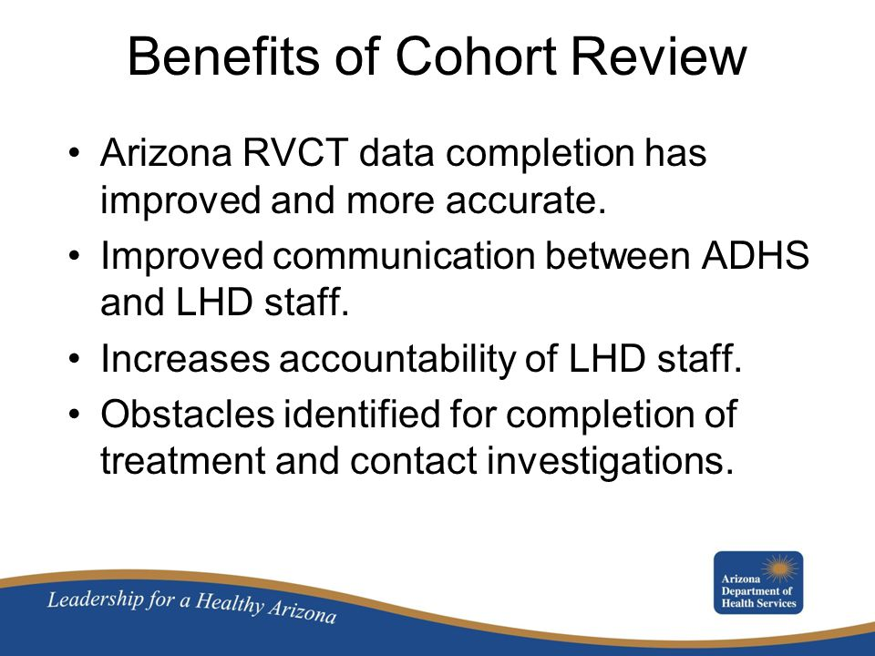 Benefits of Cohort Review