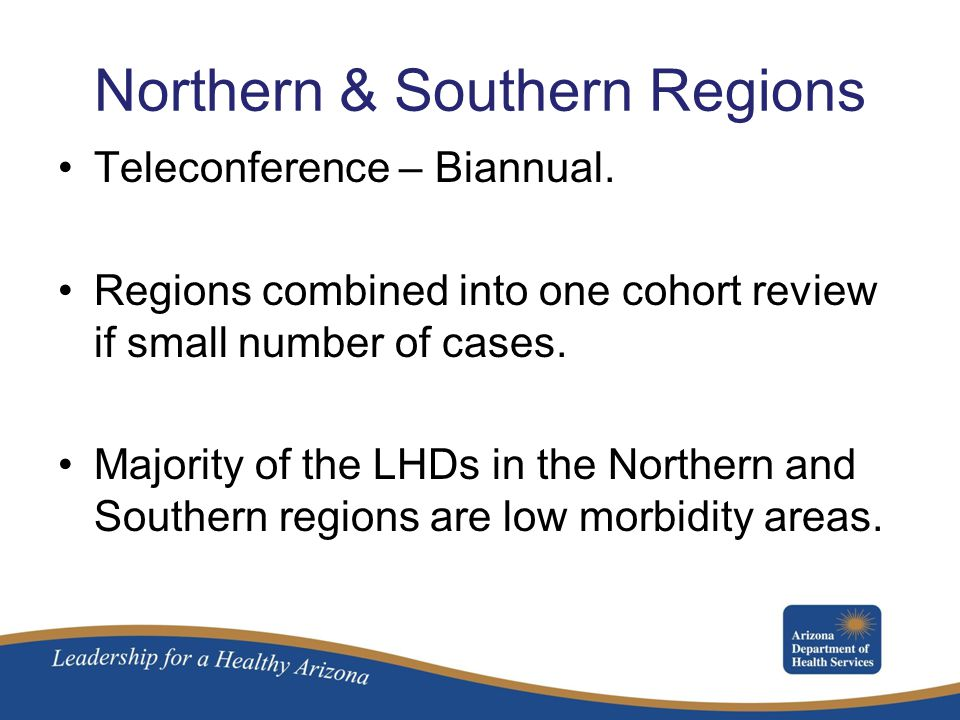 Northern & Southern Regions