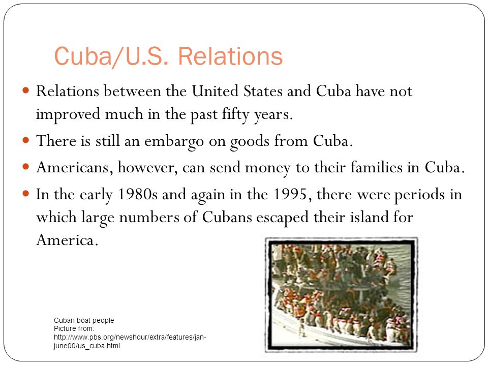 relationship between cuba and the united states
