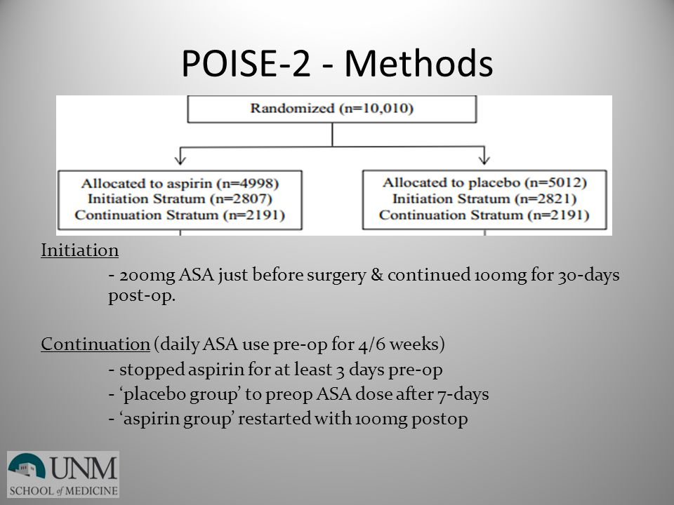 POISE-2 - Methods
