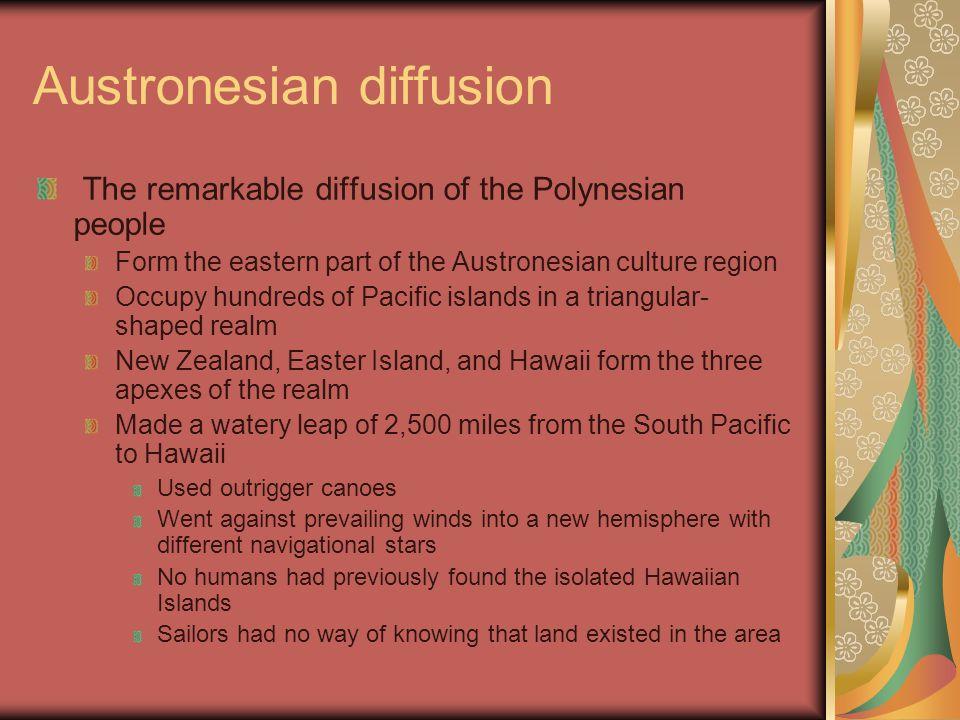 Austronesian diffusion