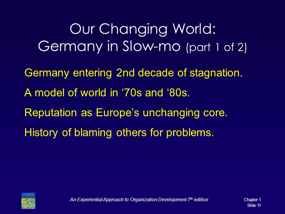 Our Changing World: Germany in Slow-mo (part 1 of 2)