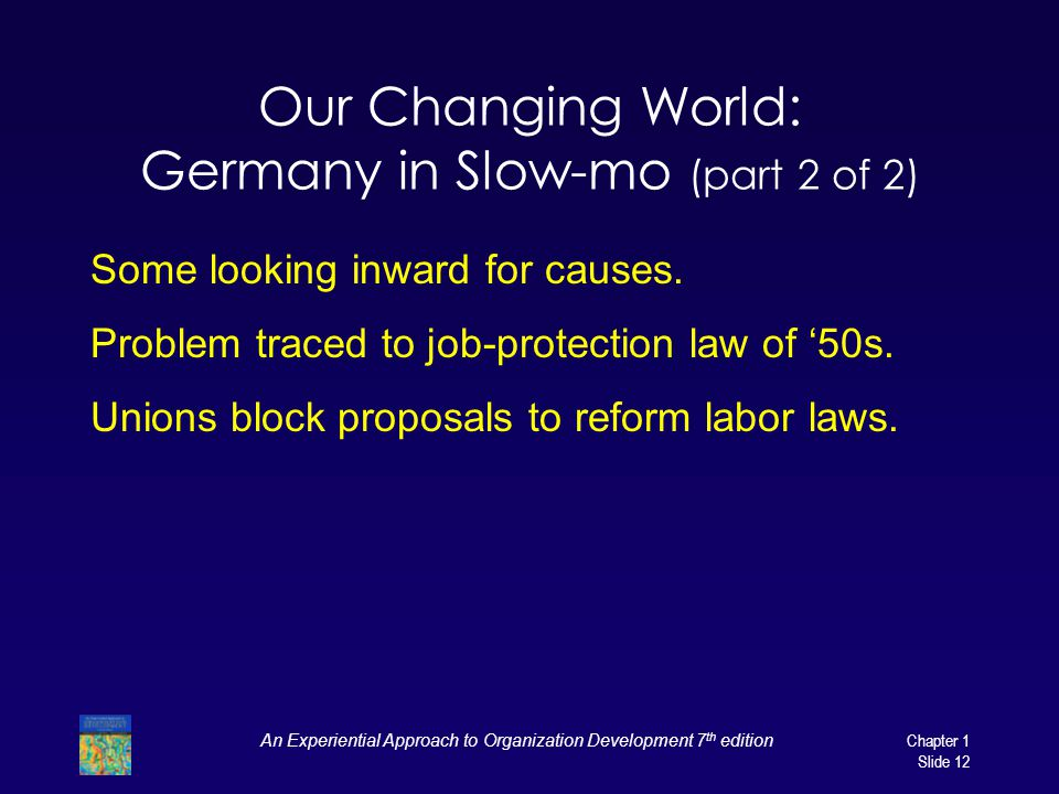Our Changing World: Germany in Slow-mo (part 2 of 2)
