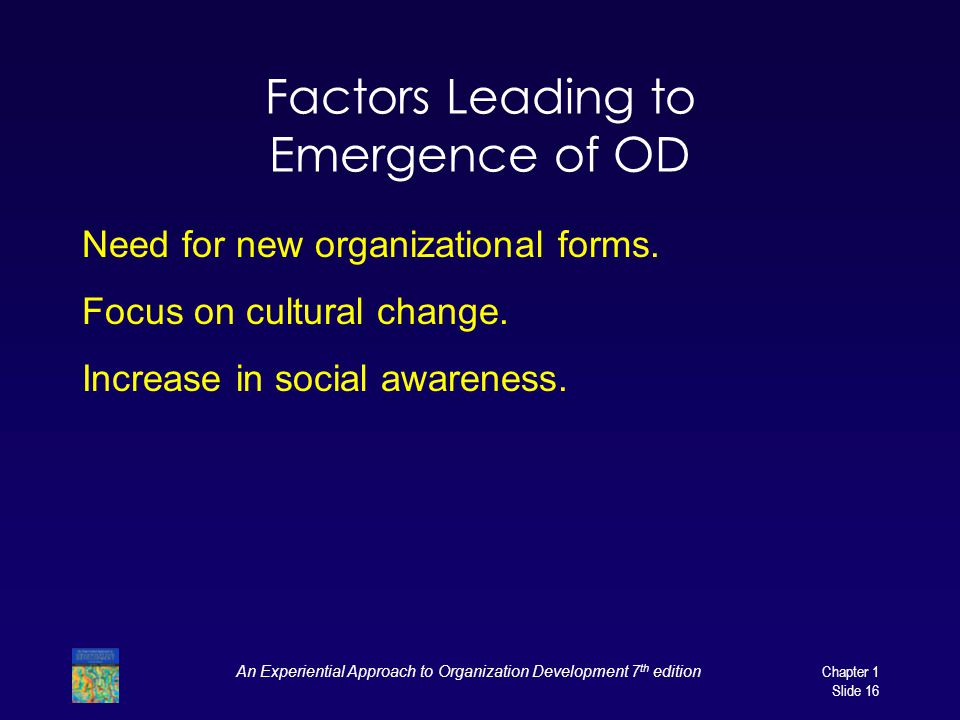 Factors Leading to Emergence of OD