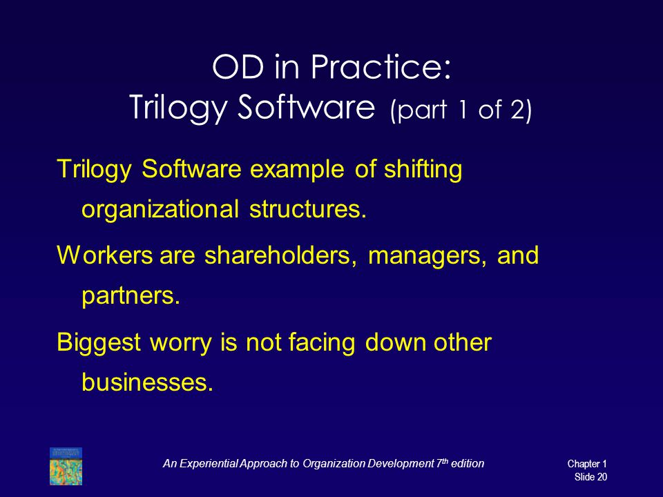 OD in Practice: Trilogy Software (part 1 of 2)