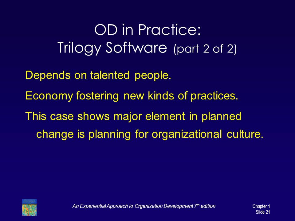 OD in Practice: Trilogy Software (part 2 of 2)