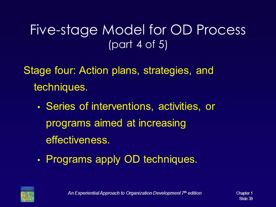 Five-stage Model for OD Process (part 4 of 5)