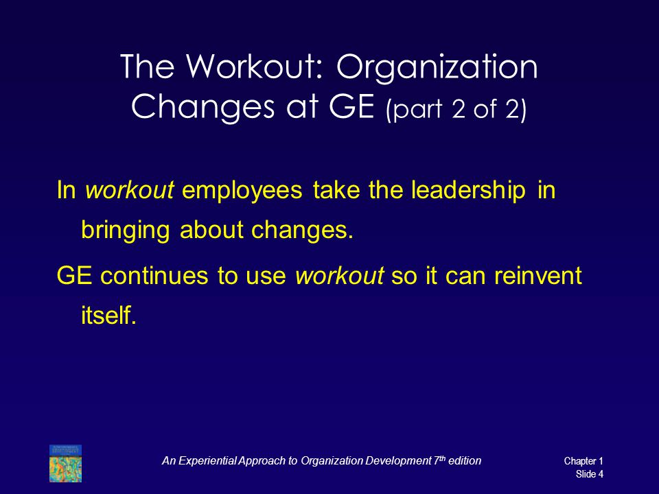 The Workout: Organization Changes at GE (part 2 of 2)