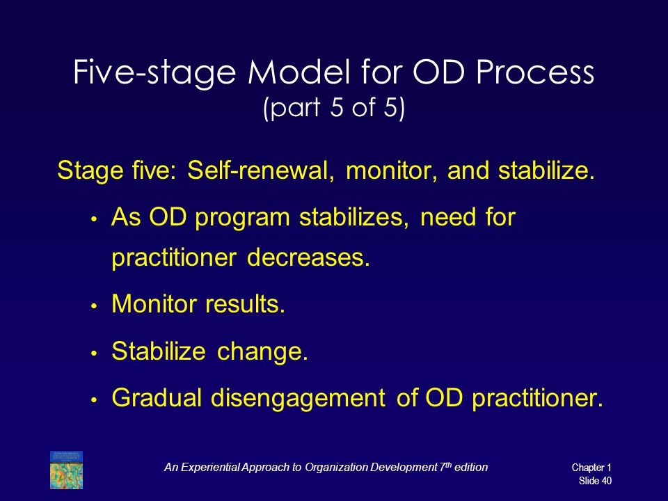 Five-stage Model for OD Process (part 5 of 5)