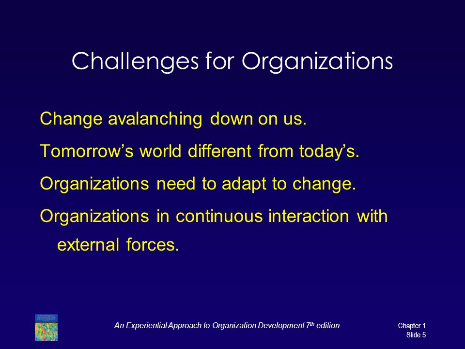 Challenges for Organizations