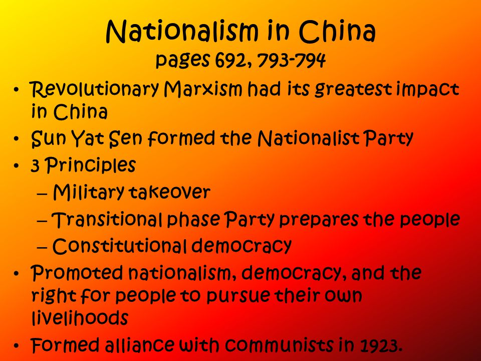 Nationalism in China pages 692, 793-794