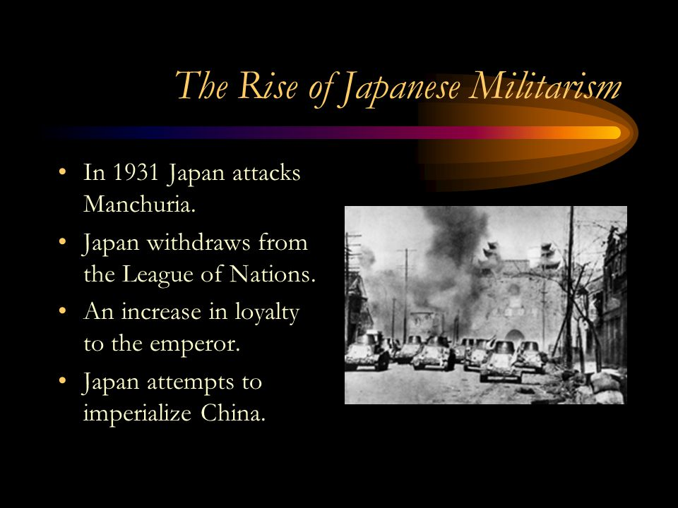 The Rise of Japanese Militarism