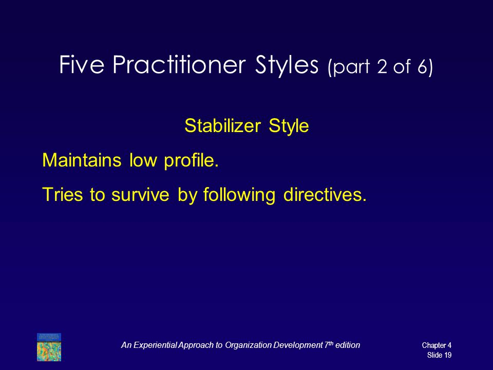 Five Practitioner Styles (part 2 of 6)