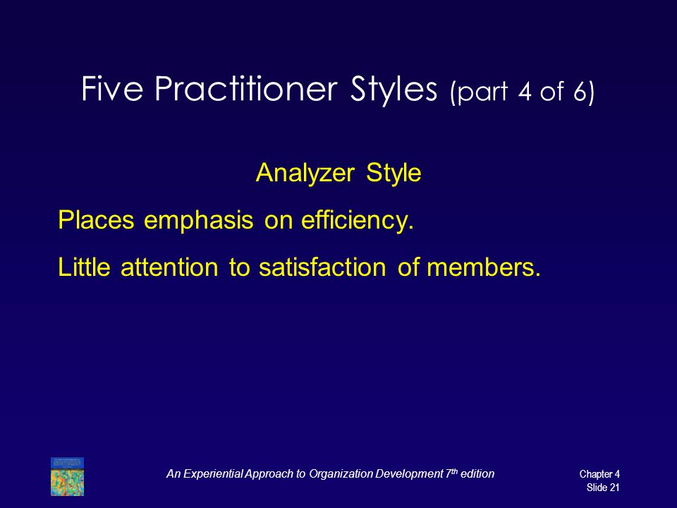 Five Practitioner Styles (part 4 of 6)