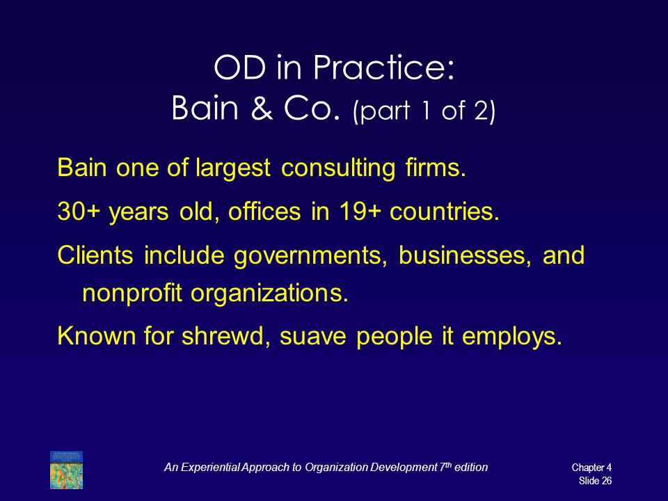 OD in Practice: Bain & Co. (part 1 of 2)