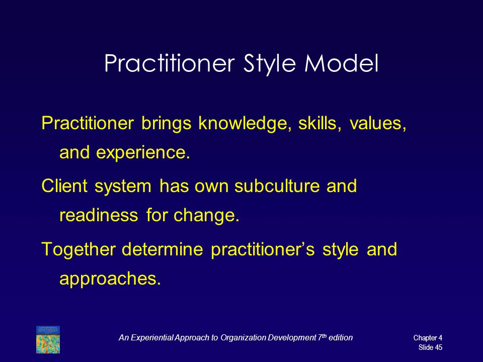 Practitioner Style Model