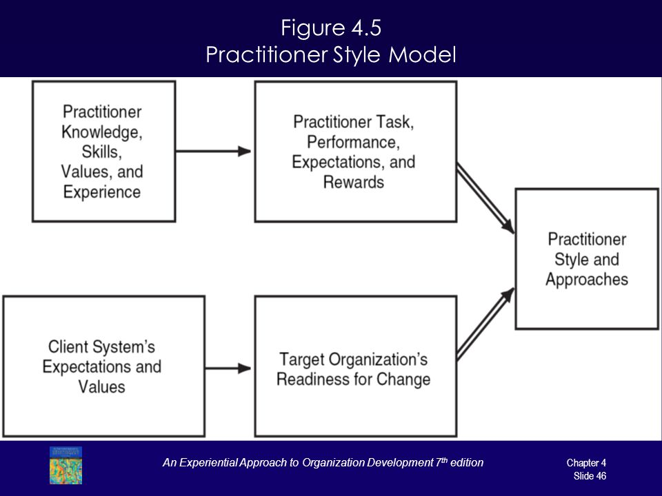 Figure 4.5 Practitioner Style Model