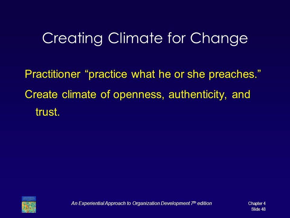 Creating Climate for Change