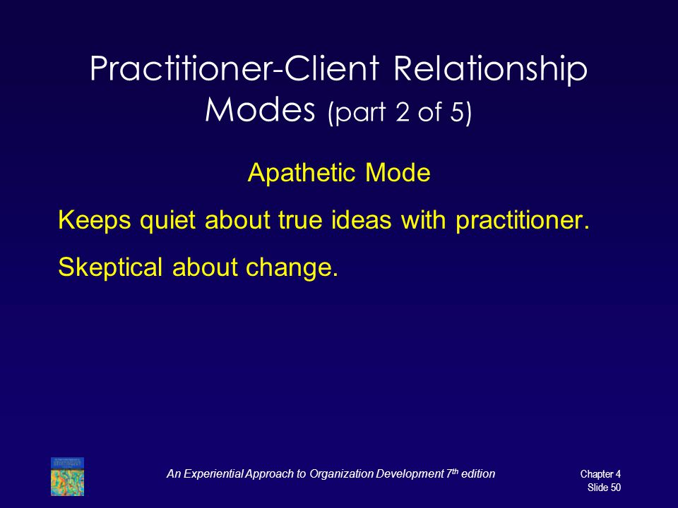 Practitioner-Client Relationship Modes (part 2 of 5)