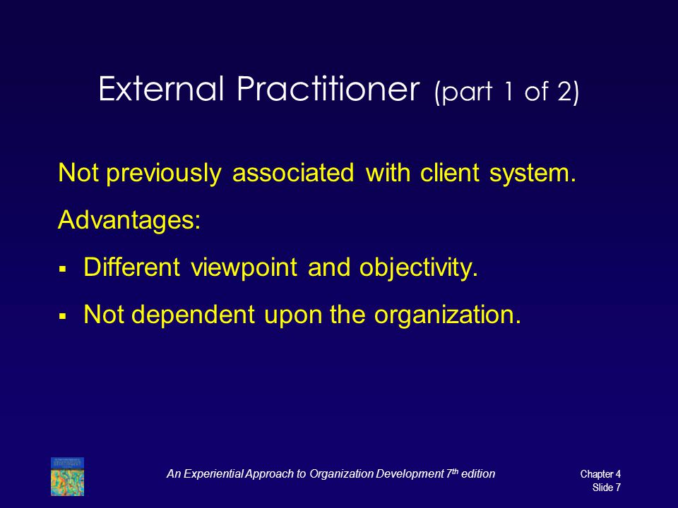 External Practitioner (part 1 of 2)