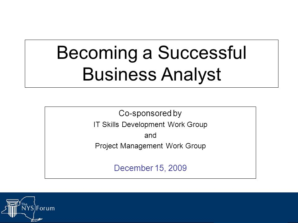 how to become a successful business analyst