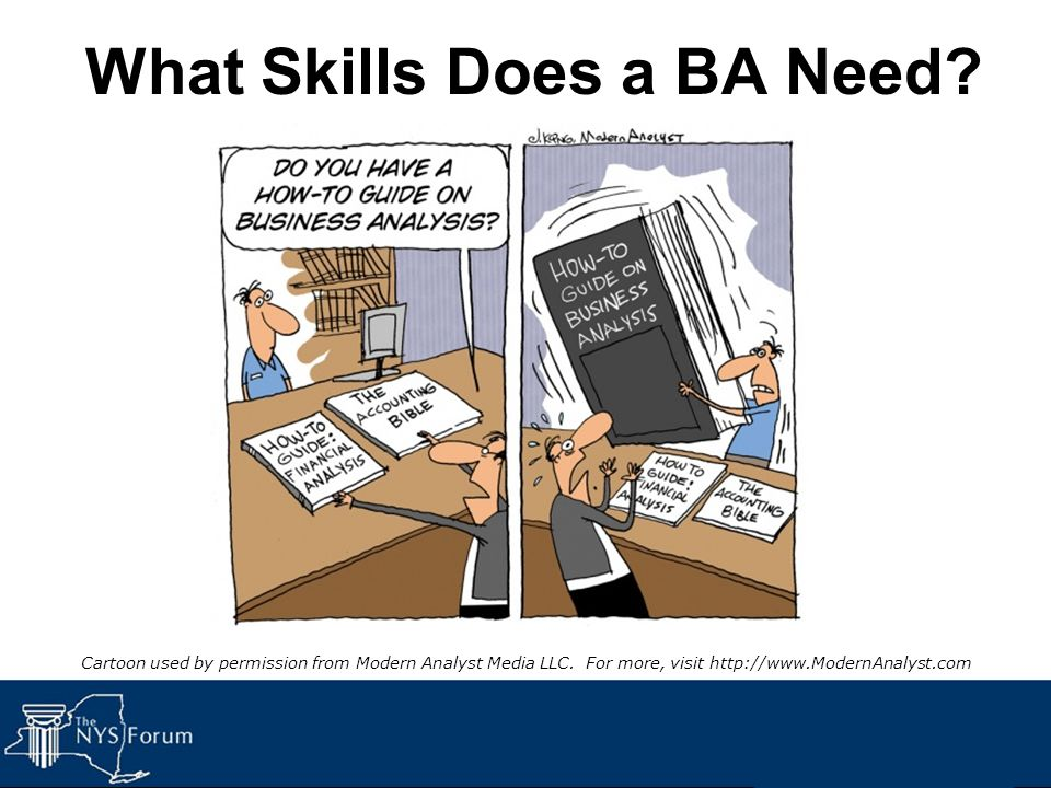 What Skills Does a BA Need