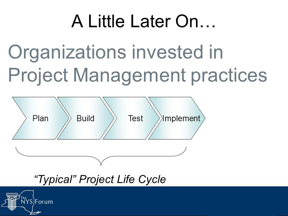 Typical Project Life Cycle