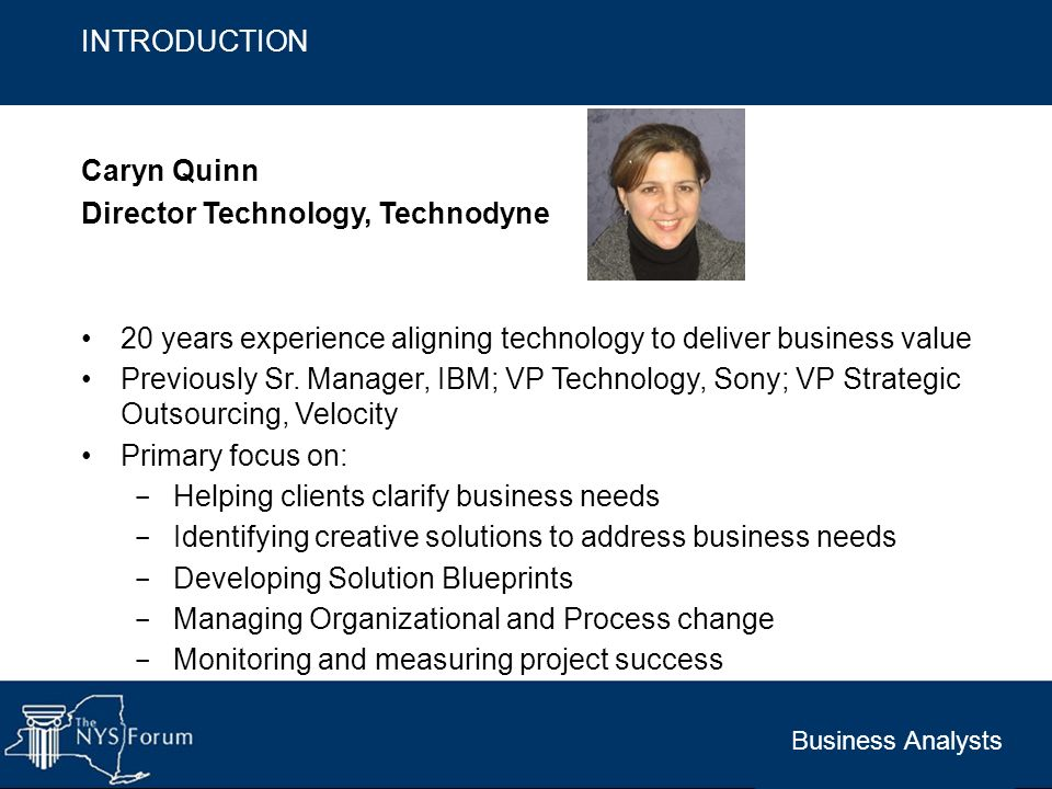Director Technology, Technodyne