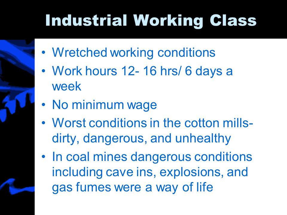 Industrial Working Class