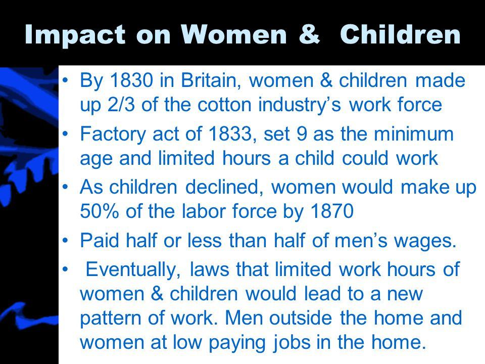 Impact on Women & Children