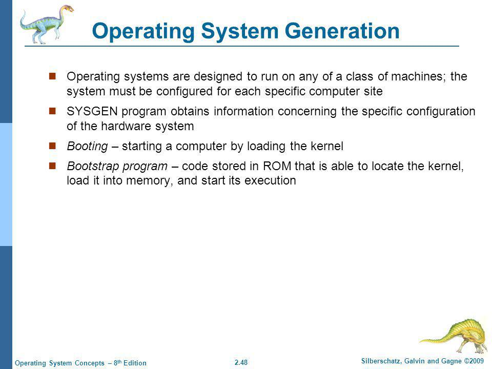 Operating System Generation