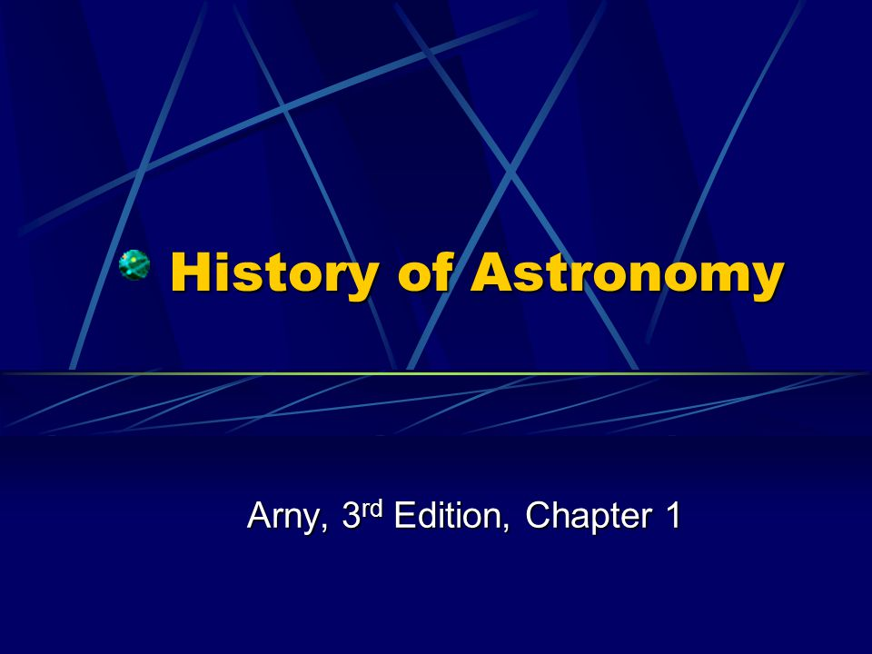 Arny, 3rd Edition, Chapter 1