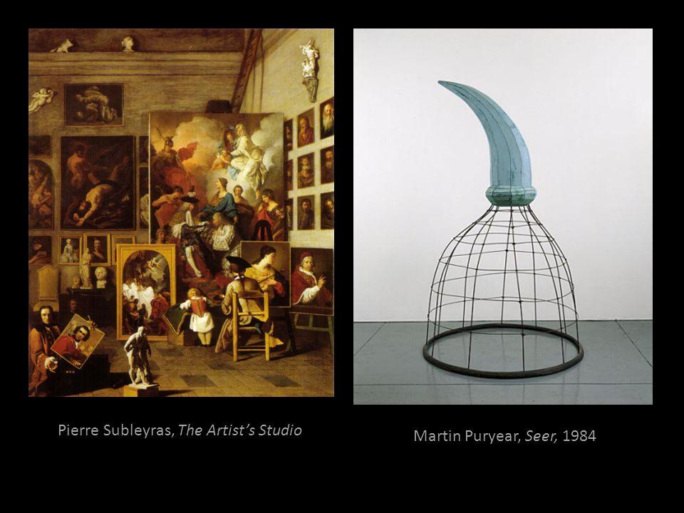 Pierre Subleyras, The Artist's Studio