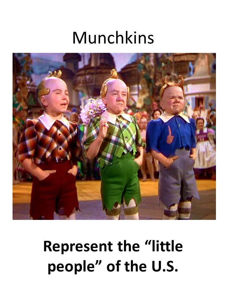 Represent the little people of the U.S.