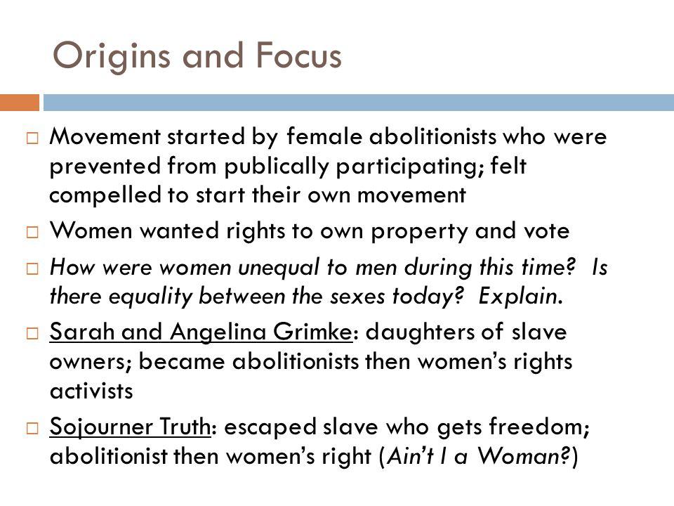 Origins and Focus