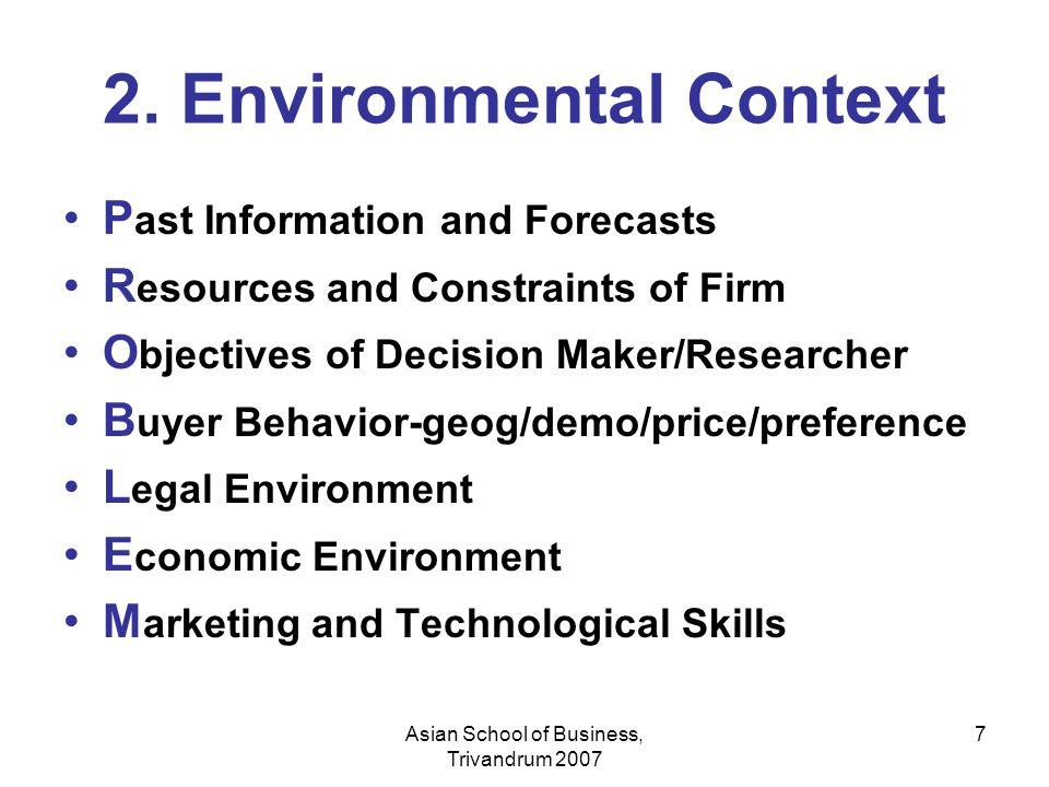 2. Environmental Context