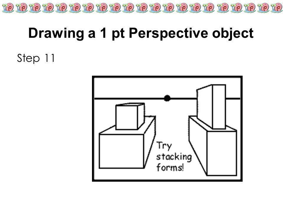 Drawing a 1 pt Perspective object