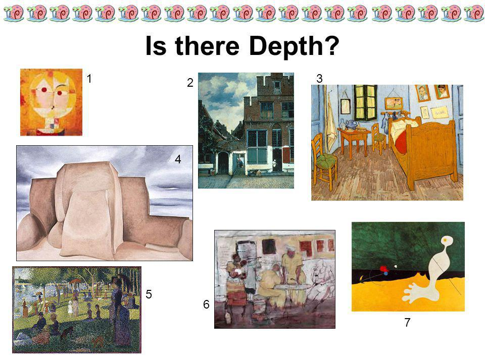 Is there Depth 1 3 2 4 5 6 7