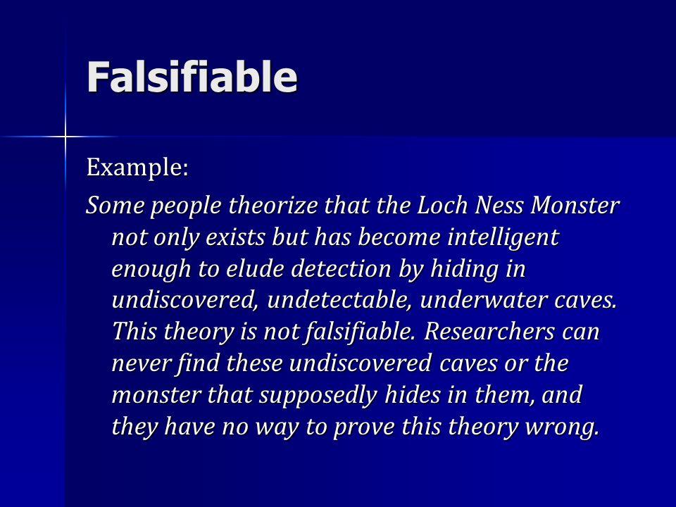 FalsifiableExample: