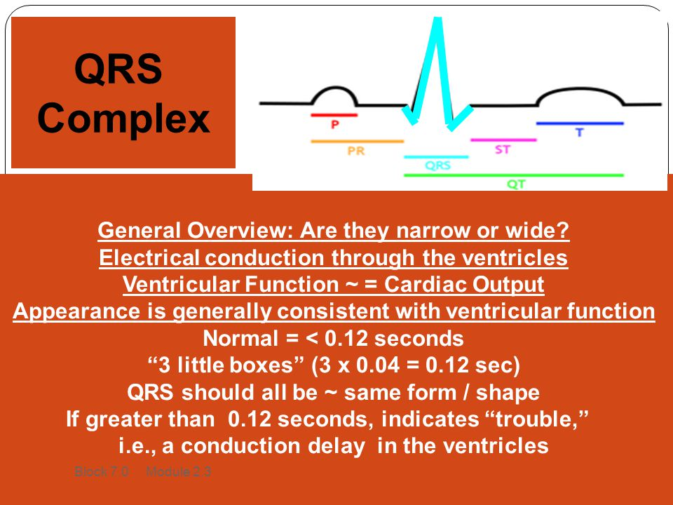 QRS Complex General Overview: Are they narrow or wide