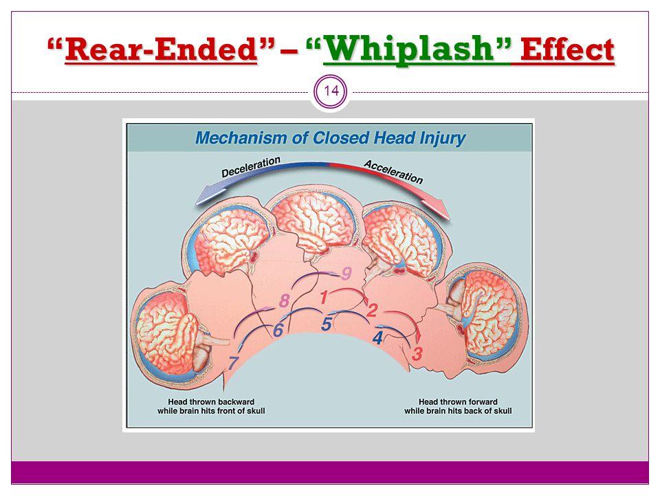 Rear-Ended – Whiplash Effect