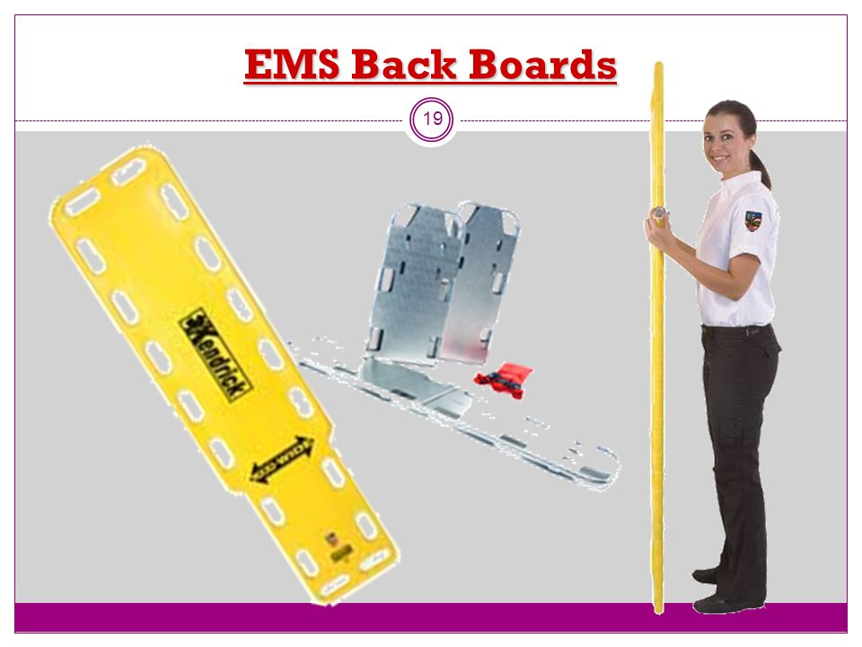 EMS Back Boards