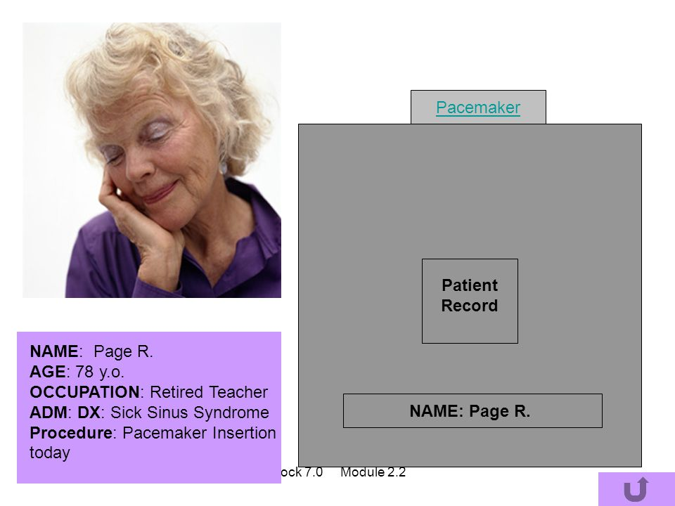 Patient Record NAME: Page R.