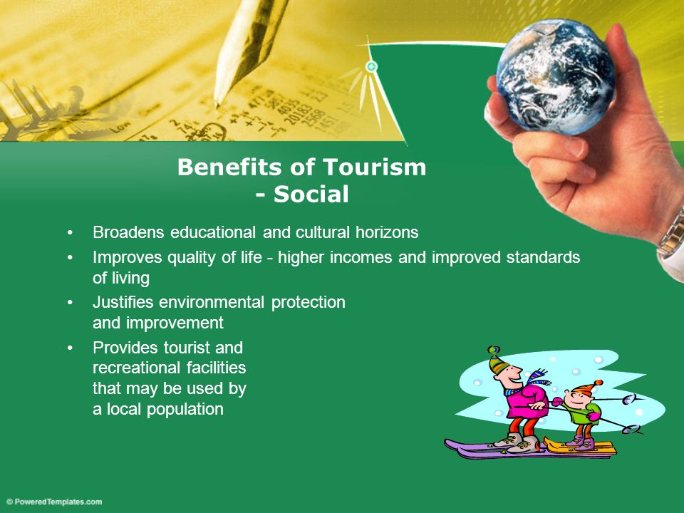 Benefits of Tourism - Social
