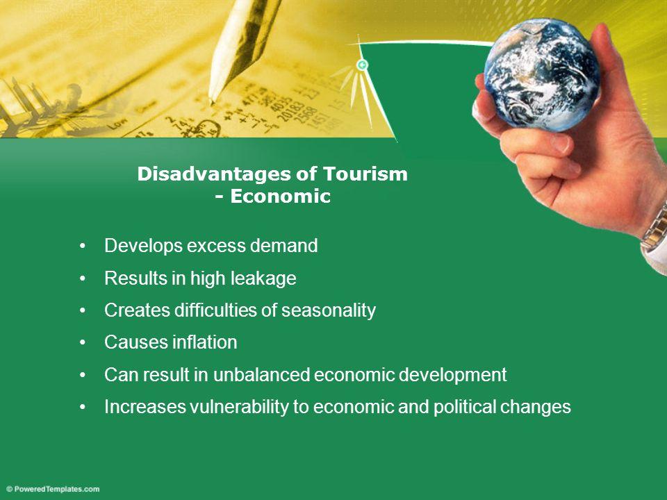 Disadvantages of Tourism - Economic